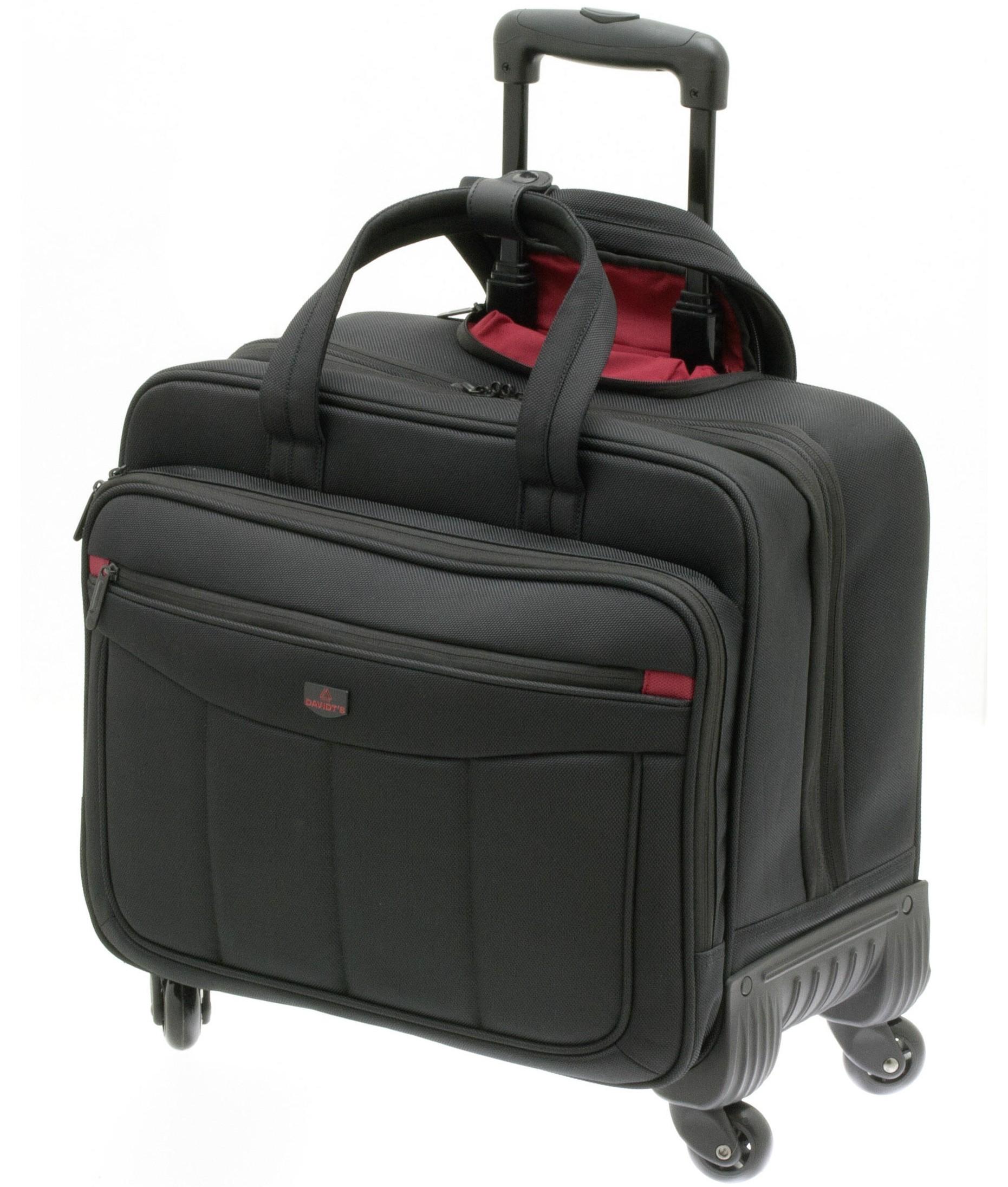 valise pour ordinateur 17 pouces avec 4 roues davidt 39 s monte carlo citasac. Black Bedroom Furniture Sets. Home Design Ideas