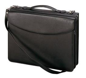 Davidt 39 s serviette classeur a4 pour un bureau mobile noir porte documents conf rencier - Porte document pour bureau ...