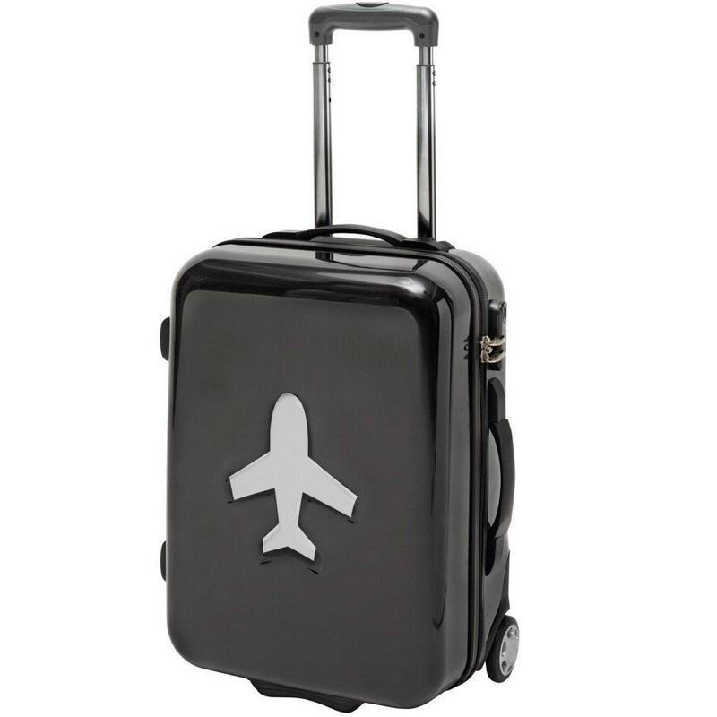 valise cabine avec trolley en polycarbonate noir meandmy 40104 citasac. Black Bedroom Furniture Sets. Home Design Ideas